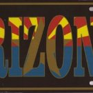 Arizona State Car License Plate (3)