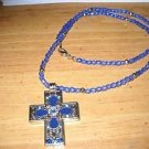 Woman's Byzant Cross Pendant