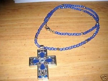Woman's Byzant Cross Pendant