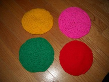 4 Pack Double Layer Jumbo Scrubbies