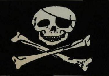 Jollly Roger Polyester Flag 3 X 5