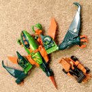Transformers Armada Terrorsaur with Ironhide Minicon