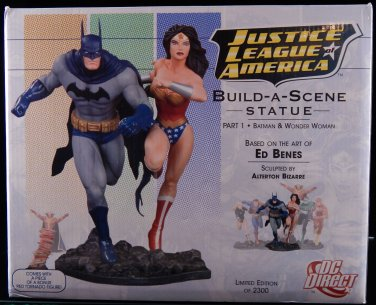 Justice League of America Build a scene statue Parts 1, 2, & 3