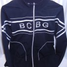 BCBG Max Azria Black  Zip Up Yoga Jacket/Sweat shirt Xl