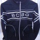 BCBG Max Azria Black  Zip Up Yoga Jacket/Sweat shirt Xl