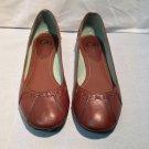 Giani Bini brown leather flats size 9.5 women