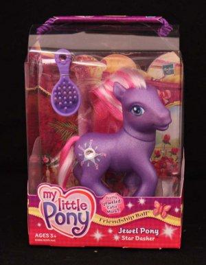 G3-MLP My Little Pony Friendship Ball Jewel Pony Star Dasher