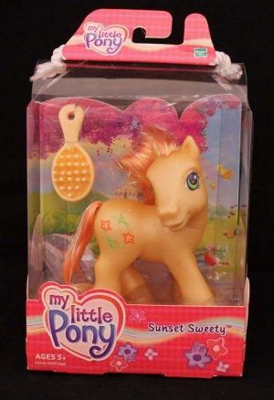 2003 G3-MLP My Little Pony Sunset Sweety