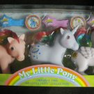 Parasol, Moonstone, Starshine- 25th Birthday Celebration My Little Pony Original 1983 Collection