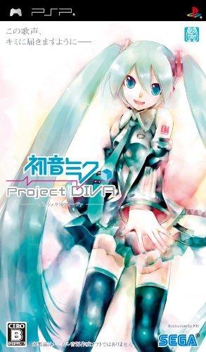PSP Hatsune Miku Project DIVA Japan
