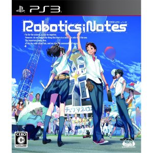 ROBOTICS;NOTES PS3 Japan Import Version
