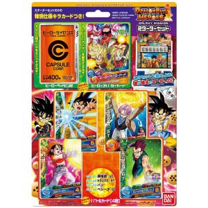 DRAGONBALL HEROES GALAXY MISSION Starter Set Hero Licence & Avatar Card JAPAN