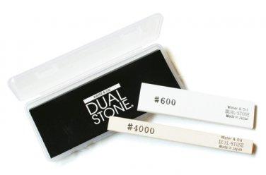 SUEHIRO DUAL STONE DS-1A Whetstone #4000 Comb Type Sharpner grindstone wetstone Japanese knife
