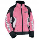 Castle X Women's XL Snowmobile Jacket Pink Switch 2009