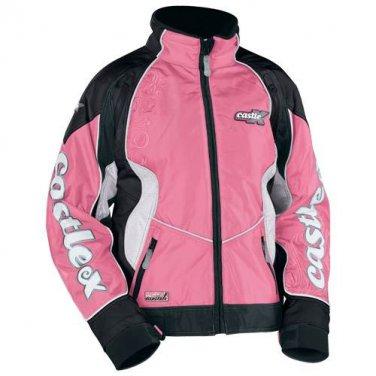 Castle X Women's XL Snowmobile Jacket Pink Switch 2009