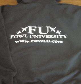 LARGE - FU Hooded Sweatshirt