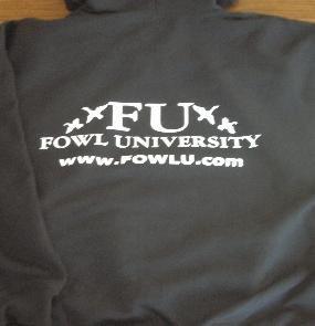 XTRA LARGE - FU Hooded Sweatshirt