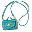 Phone it In Bag Teal Phone Case Purse *New*