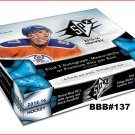 BBB#139 2015-16 UPPER DECK SPX HOCKEY HOBBY BOX BREAK