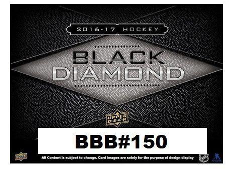 BBB#150 2016-17 Upper Deck Black Diamond Hockey Hobby Box Break fulll
