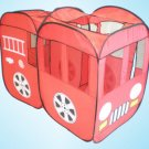Fire Truck Engine Pop Up Play House Portable Folding Tent for Kids Child w/ Bag