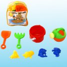2012 AWESOME 9 Piece Beach Sandbox Set By Joybay Perfect Fun Kids Sand Backpack