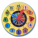 Melissa & Doug Shape Sorting Clock Preschool Montessori Free Shipping BNIB 2012