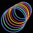 "BEST DEAL 8"" Glowsticks 100 Pack Glow Stick Bracelets 5 Neon Colors Party Favors"