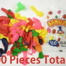 100 Pieces Colorful Assorted Water Balloons Bombs Grenades Pack w/ Filler Funnel