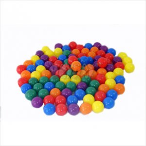 NEW 100 Fun Balls w/ Carry Bag by Joybay For Ball Pit Ballz PerfectToy Gift Kids