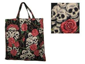 "Alexander Henry ""Rose Tattoo"" cotton tote bag"