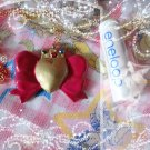 Bishojo Senshi SAILOR MOON Heart Bow Locket Compact Brooch