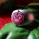 Revolutionary Girl Utena ROSE CREST ★MOVIE★ Signet RING.....Silver