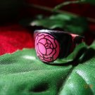 Revolutionary Girl Utena ROSE CREST Signet RING.....★Sterling Silver★