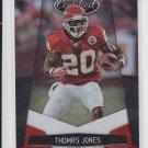 2010 Panini Certified Platinum Red #75 Thomas Jones #'D 699/999