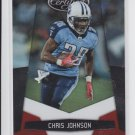 2010 Panini Certified Platinum Red #144 Chris Johnson  #'D 312/999