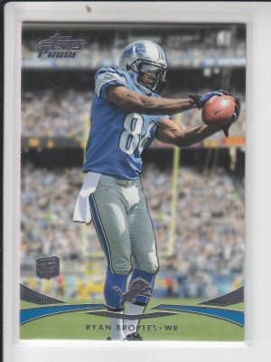 2012 Topps Prime Hobby Edition Rookie Card #136 Ryan Broyles Lions NMT-MT