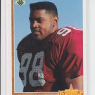 1991 Upper Deck Star Rookie #15 Eric Swann Cardinals NMT Slight Off-Center