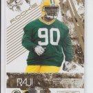 2009 Panini Rookies & Stars Retail Gold RC #123 B.J. Raji Packers NMT-MT