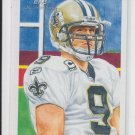 2009 Topps National Chicle #C20 Drew Brees Saints NMT-MT