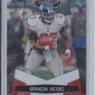 2010 Panini Certified Platinum Red #97 Brandon Jacobs Giants #'D 842/999