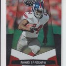 2010 Panini Certified Platinum Red #98 Ahmad Bradshaw Giants #'D 686/999