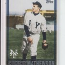 2010 Topps Vintage Legends Collection #VLC-33 Christy Mathewson NY Giants