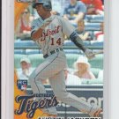 2010 Topps Chrome Wrapper Redemption Refractor RC #177 Austin Jackson Tigers
