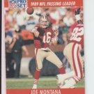 1991 Pro Set #8 Joe Montana 49ers Slight Chipping