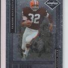 2006 Leaf Limited #140 Jim Brown Browns #'D 195/799