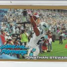 "2010 Topps Gold Border #290 Jonathan Stewart  Panthers #""D 0357/2010"