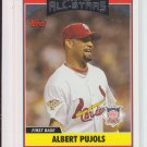 2006 Topps Update AS #229 Albert Pujols Cardinals Angels