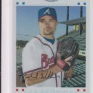 "2007 Topps Chrome White Refractors #190 Mike Hampton Braves #""D 321/660"