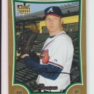 2009 Bowman Gold Rookie Card #BDP1 Tommy Hanson Braves